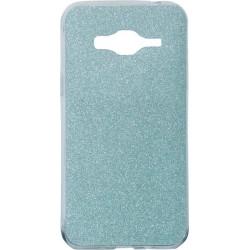 Силикон SA J3/J320 blue Glitter
