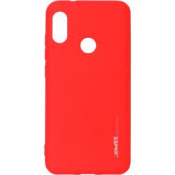 Силикон Xiaomi Mi A2 Lite/6pro red SMTT