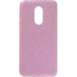 Силикон Xiaomi Redmi5 pink Glitter