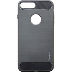 Накладка iPhone 7+ black slim TPU iPAKY