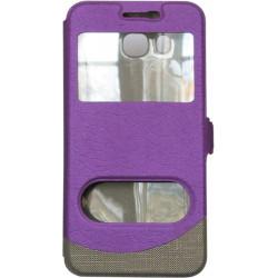 Чехол-книжка SA J510 violet Window