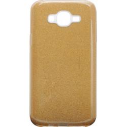 Силикон SA J7/J700/J701 gold Glitter