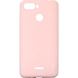Силикон Xiaomi Redmi6 peach Inavi