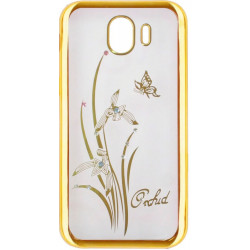 Силикон SA J4 (2018) gold bamper Orchid swarowski