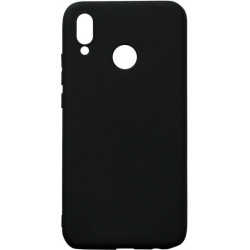 Силикон Huawei P20 Lite/Honor8X black Soft Touch