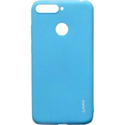 Силикон Huawei Y6 Prime (2018)/Honor7A Pro blue Inavi