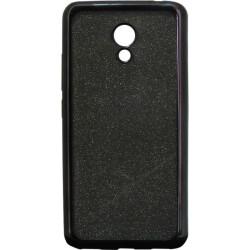 Силикон Meizu M5C black Glitter