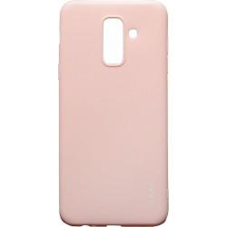 Силикон SA A6+ (2018) A605 peach Inavi