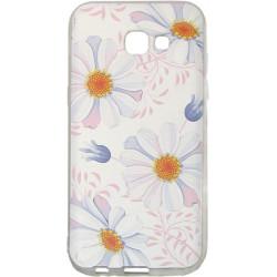 Силикон SA A520 3D Flowers white