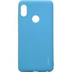 Силикон Xiaomi Redmi Note5/5Pro blue Inavi
