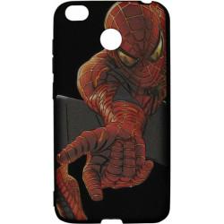 Силикон Xiaomi Redmi4X 3D Spiderman black