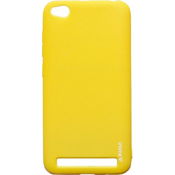 Силикон Xiaomi Redmi5A yellow Inavi