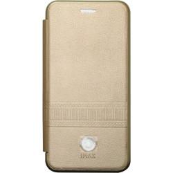 Чехол-книжка SA J250 gold Wallet