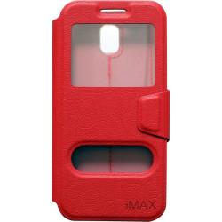 Чехол-книжка SA J330 red iMAX