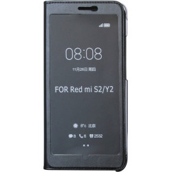 Чехол-книжка Xiaomi Redmi S2 black Window Full