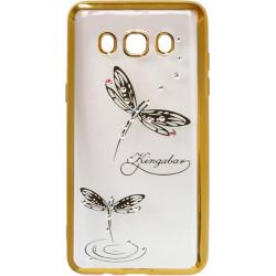 Силикон SA J510 gold bamper Dragonfly swarovski