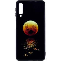 Накладка SA A750/A7 (2018) black Moon Luminous