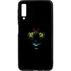 Накладка SA A750/A7 (2018) black Tiger Luminous