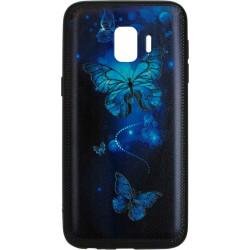 Накладка SA J260 J2 Core Butterflies blue Night case