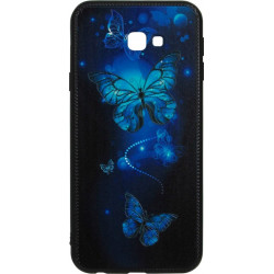 Накладка SA J415/J4+ Butterflies blue Night case