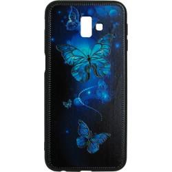 Накладка SA J610/J6+ Butterflies blue Night case