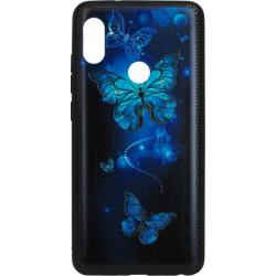 Накладка Xiaomi Redmi Note5/5Pro Butterflies blue Night case