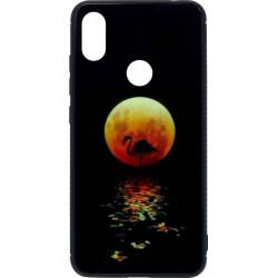 Накладка Xiaomi Redmi Note6 Pro black Moon Luminous