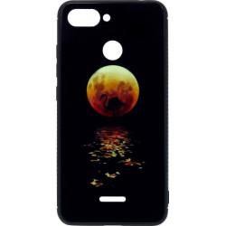Накладка Xiaomi Redmi6 black Moon Luminous