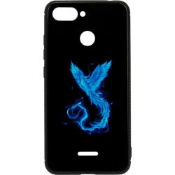 Накладка Xiaomi Redmi6 black Phoenix Luminous