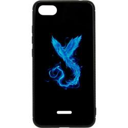 Накладка Xiaomi Redmi6A black Phoenix Luminous