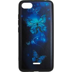 Накладка Xiaomi Redmi6A Butterflies blue Night case