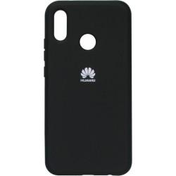Накладка Huawei P20 Lite/Honor8X black Soft Case