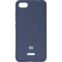 Накладка Xiaomi Redmi6A dark blue Soft Case