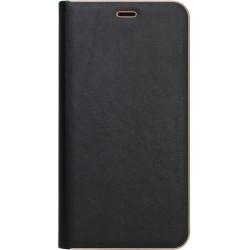 Чехол-книжка SA J415/J4+ black leather Florence
