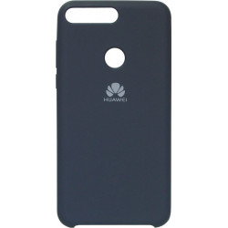Накладка Huawei Y7 Prime (2018) dark blue Soft Case