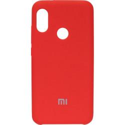 Накладка Xiaomi Mi A2 Lite/Redmi6 Pro red Soft Case