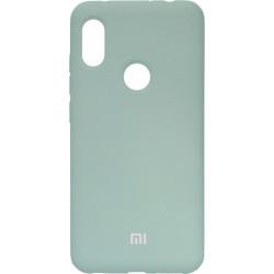 Накладка Xiaomi Redmi Note6 Pro mint Soft Case