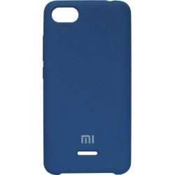 Накладка Xiaomi Redmi6A blue Soft Case