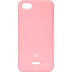 Накладка Xiaomi Redmi6A pink Soft Case
