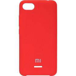 Накладка Xiaomi Redmi6A red Soft Case