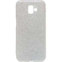 Силикон SA J610/J6+ silver Glitter