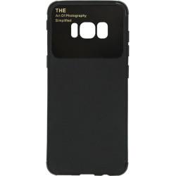 Силикон SA G950 S8 black Acrylic TPU