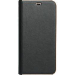 Чехол-книжка SA A750/A7 (2018) black leather Florence