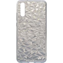 Силикон Huawei P20 white Diamond
