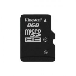 Карта памяти Micro SD 8GB/4 class Kingston