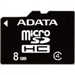 Карта памяти Micro SD 8GB/4 class Adata