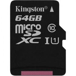 Карта памяти Micro SD 64GB/10 Class Kingston