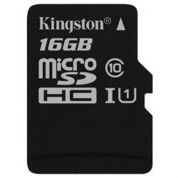 Карта памяти Micro SD 16GB/10 class Kingston