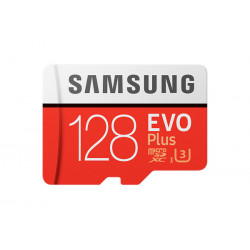 Карта памяти Micro SDXC 128GB/10 class EVO plus Samsung
