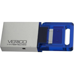 USB Flash 16GB Hybrid mini Verico blue